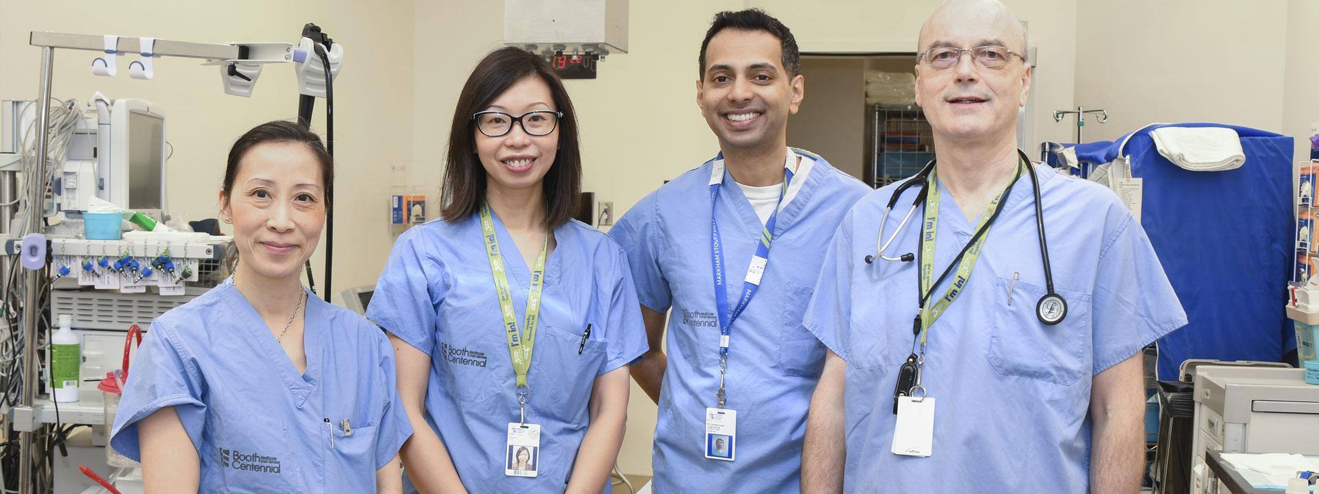 endoscopy program staff